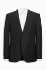 Next Signature Italian Wool Suit: Tailored Fit Jacket