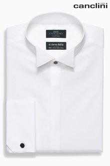 Next Regular Fit Double Cuff Signature Dress Shirt