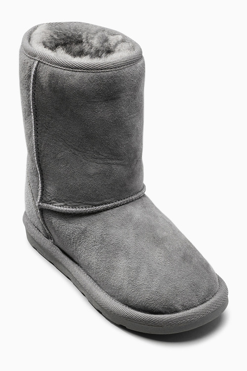Next Shearling Pull On Boots (Older Girls)