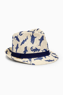 Next Shark Trilby (Younger Boys)