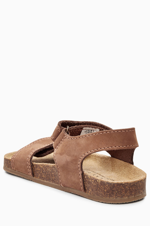 Next Smart Leather Corkbed Sandals (Younger Boys)