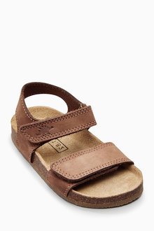 Next Smart Leather Corkbed Sandals (Younger Boys) - 181134