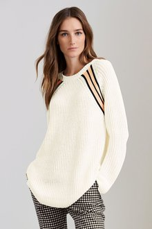 Next Tipped Cricket Sweater