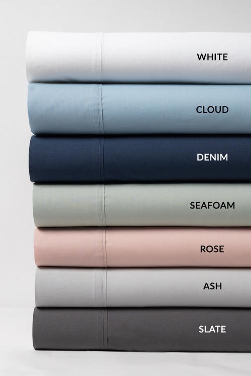 250 Thread Count Pure Cotton Pillowcase Pair