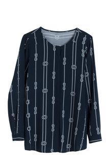 Euro Edit Knot Print Shirt - 181455