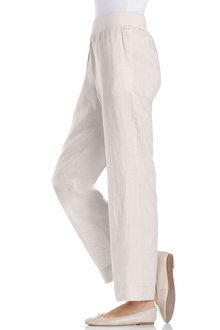 Capture Linen Pull On Pant