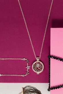Margot Accessories Stargazer Necklace and Bracelet Set