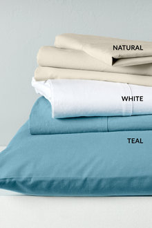 Giorgio Washed Cotton Sheet Set