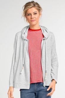 Capture Zip Through Sweatshirt