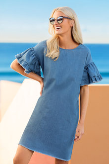 Emerge Chambray Dress