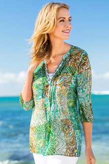 Capture Jewelled Kaftan