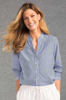 Grace Hill Silk Blend Shirt