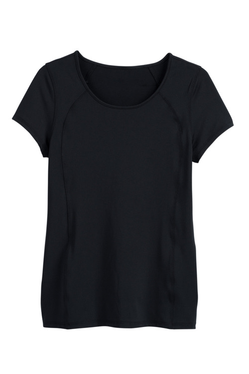 Isobar Active Scoop Neck Raglan Top