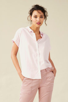 Emerge Knot Front Shirt - 182249