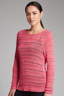 Capture Tape Yarn Sweater