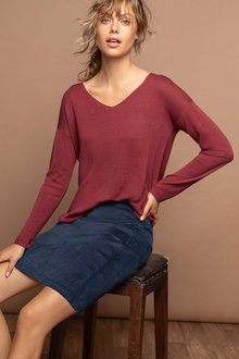 Emerge V Neck Knit - 182261