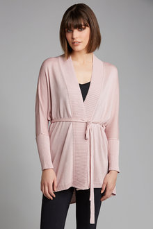 Emerge Tie Back Knit Cardigan - 182262