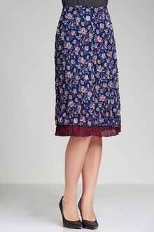 Capture Crushed Chiffon Skirt - 182269