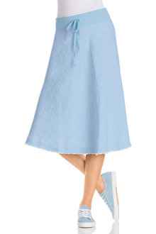 Capture Linen Circle Skirt
