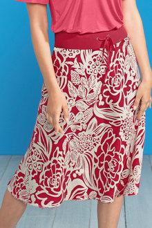 Capture Linen Circle Skirt