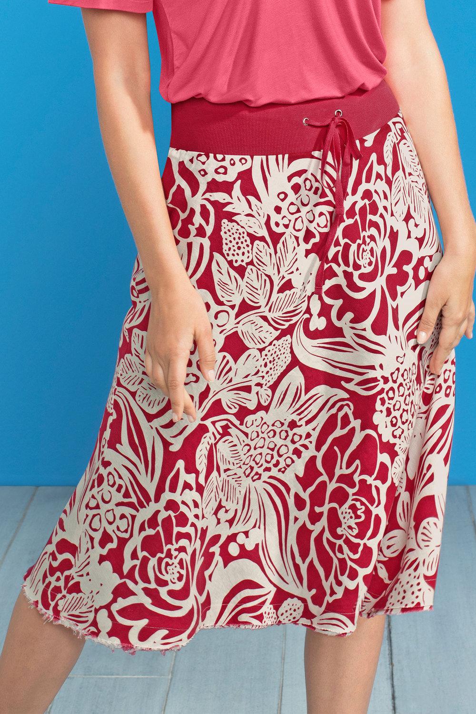 25f3f0e6b3 Capture Linen Circle Skirt Online