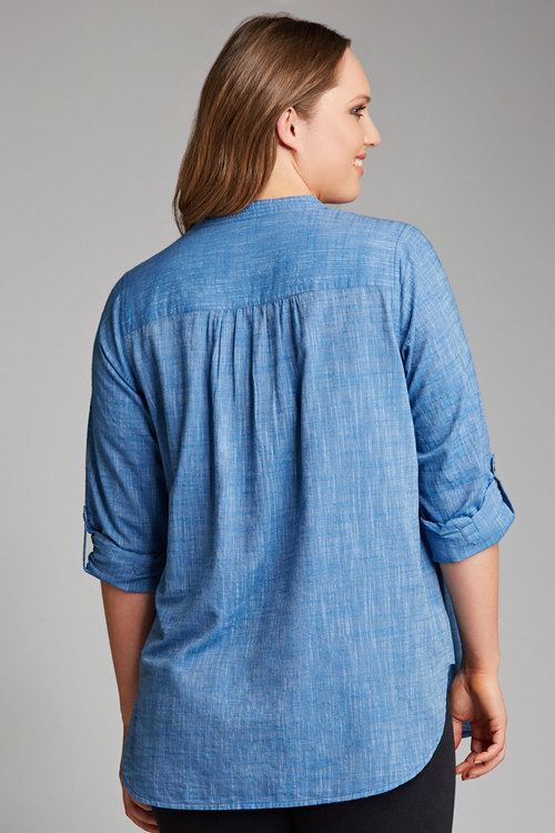 Plus Size - Sara Cotton Tunic