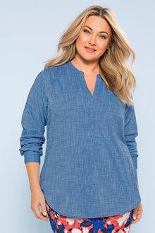 Plus Size - Sara Cotton Tunic
