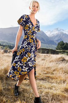 Emerge Wrap Dress