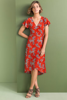 Emerge Wrap Dress