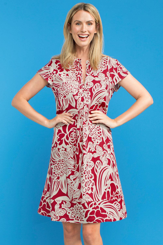 73dde5af81 Capture Linen Swing Dress Online