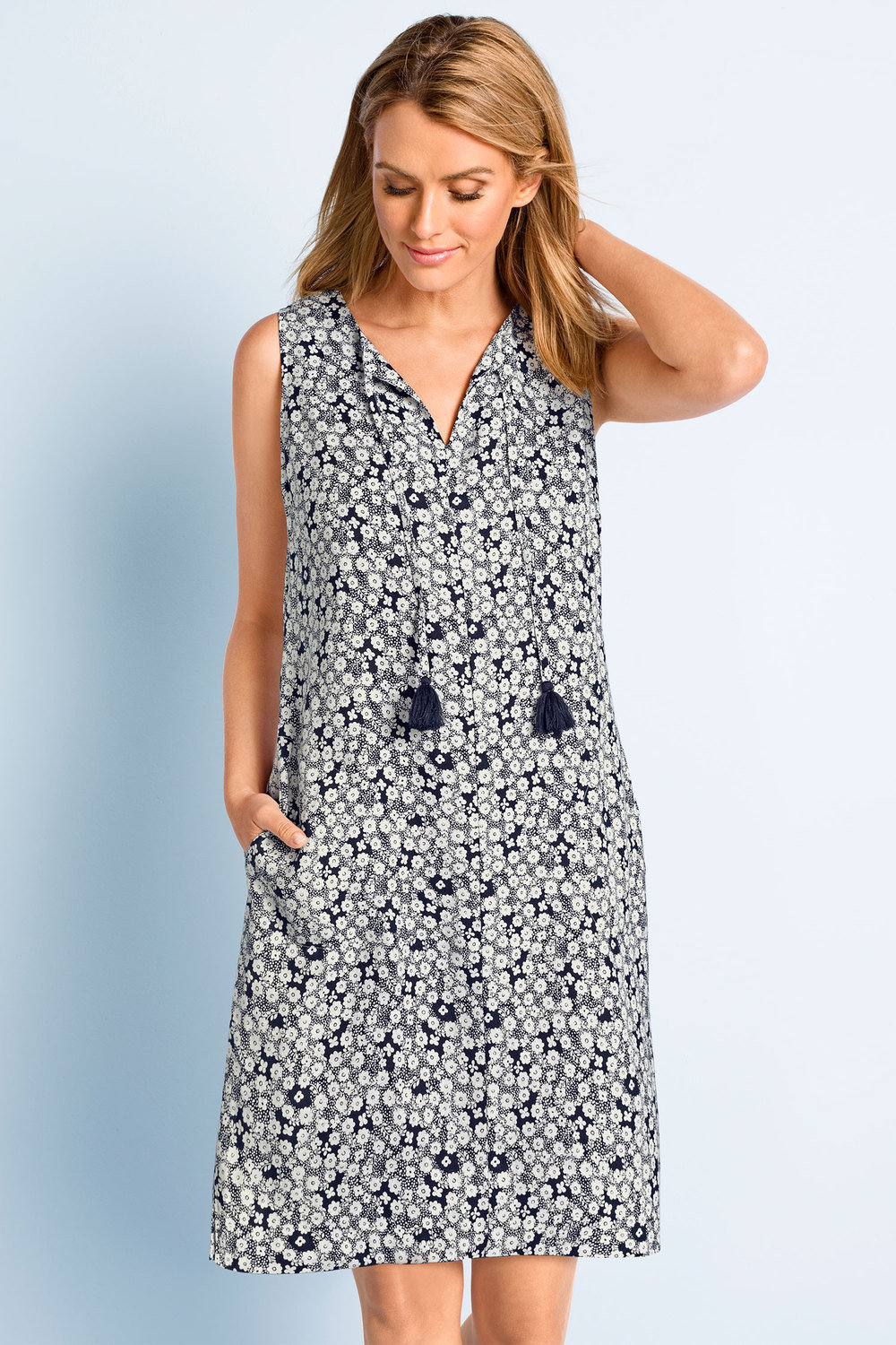 aac789e303a Capture Linen Shift Dress Online