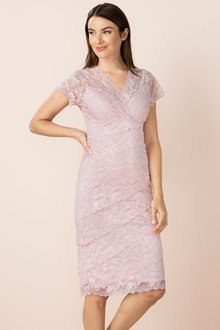 Capture Layered Lace Dress