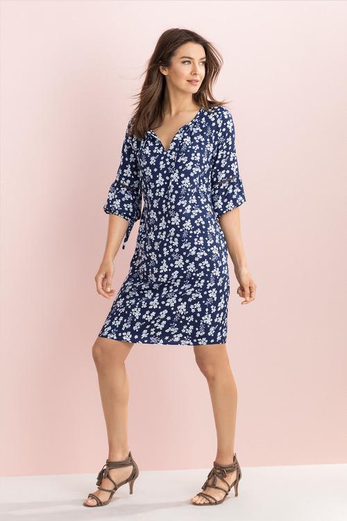 Capture Print Dress