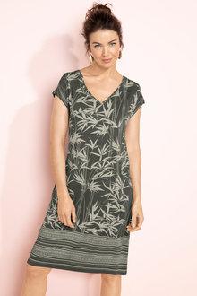 Capture V Neck Pocket Dress
