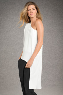 Grace Hill Asymmetrical Top