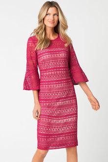 Capture Contrast Lace Dress