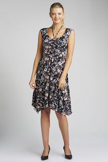 Capture Ruched Dress - 182421