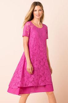 Capture Lace Swing Dress