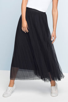 Emerge Pleated Tulle Skirt