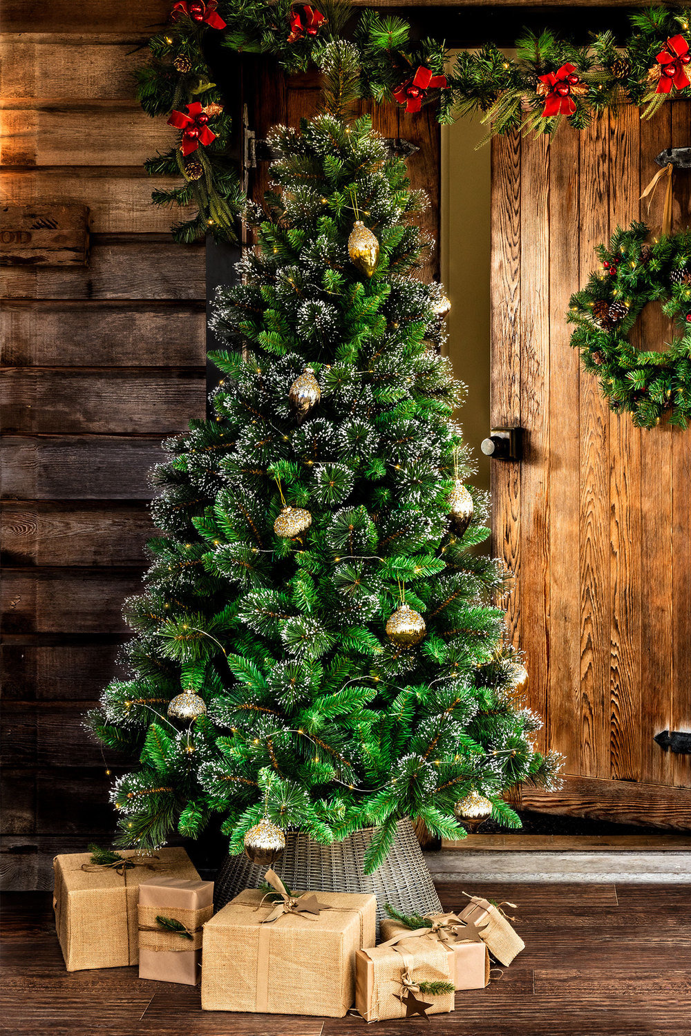 6foot Frosted Christmas Tree Online | Shop EziBuy