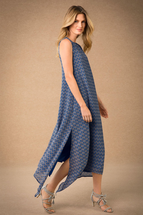 Grace Hill Cross Back Maxi Dress