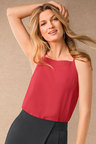 Grace Hill Bib Front Swing Cami