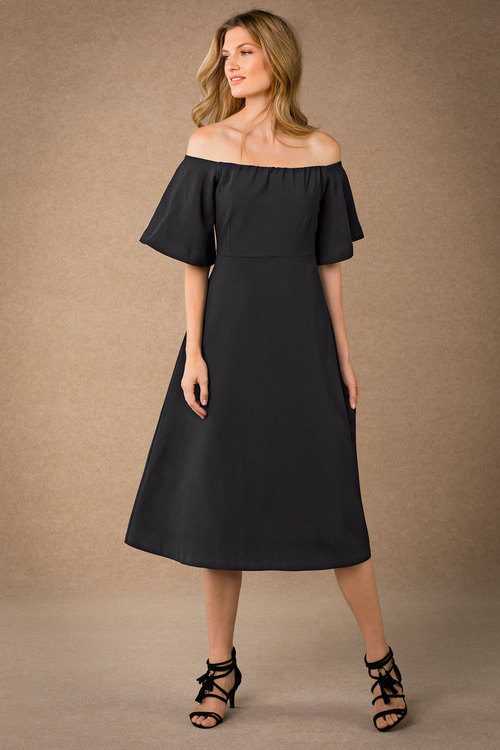 Grace Hill Off Shoulder Dress