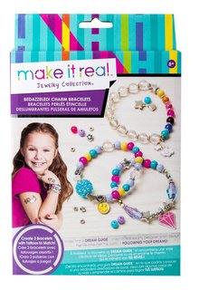 Make It Real Bedazzled Charm Bracelet Kit