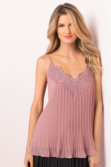 Grace Hill Lace Trim Cami