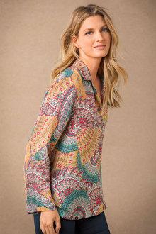 Grace Hill Silk Shirt - 182516
