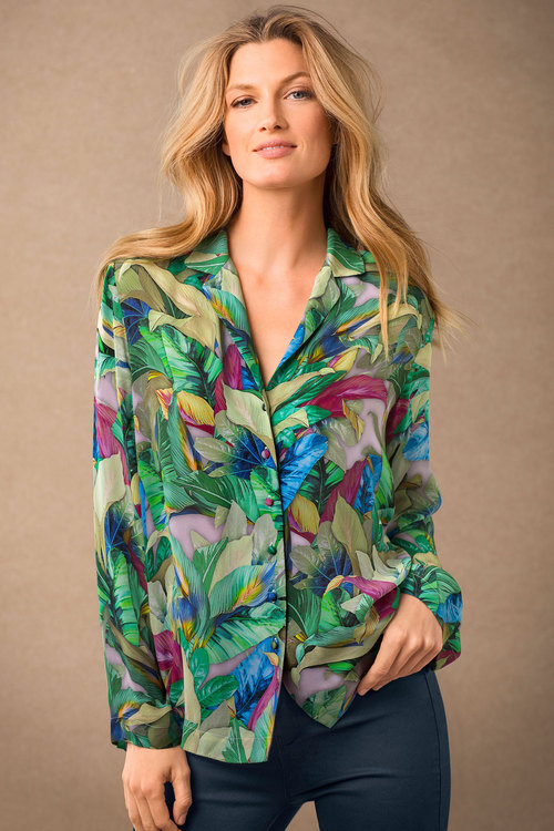 Grace Hill Silk Shirt