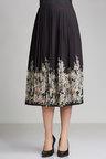 Grace Hill Pleat Print Skirt