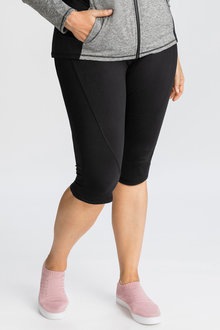 Plus Size - Isobar Active Plus Knee Length Legging