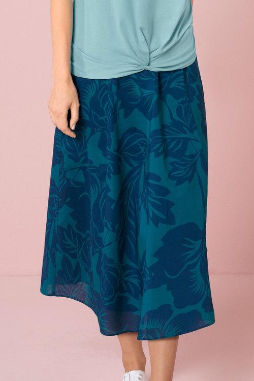 Capture Cotton Circle Skirt